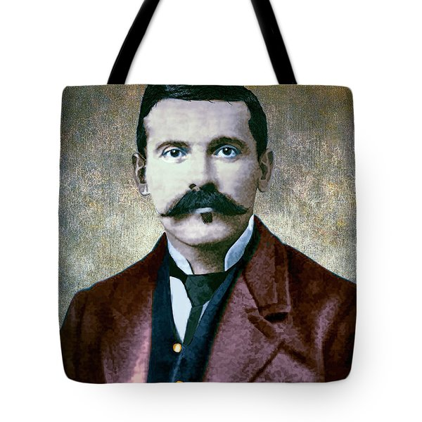 Doc Holliday Painterly Tote Bag