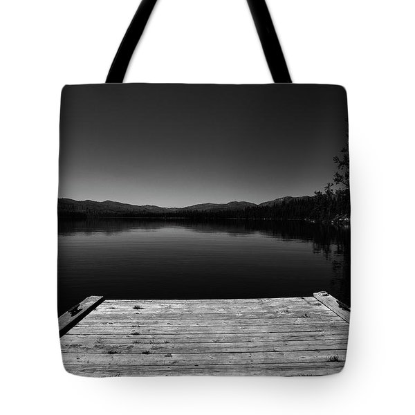 Dock At Dusk Tote Bag