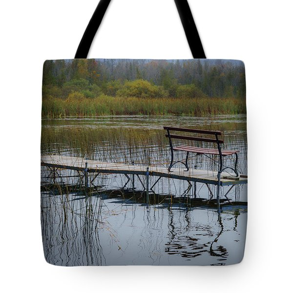 Dock By The Bay Tote Bag