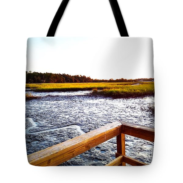 Dock Point Tote Bag