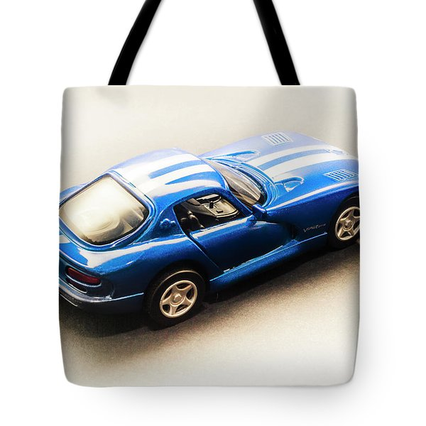 Dodge Viper Gts Tote Bag