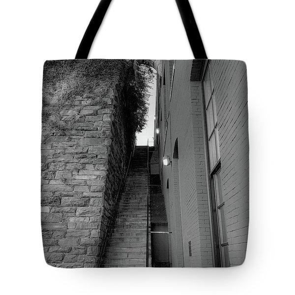 Does Evil Lurk Above? Tote Bag