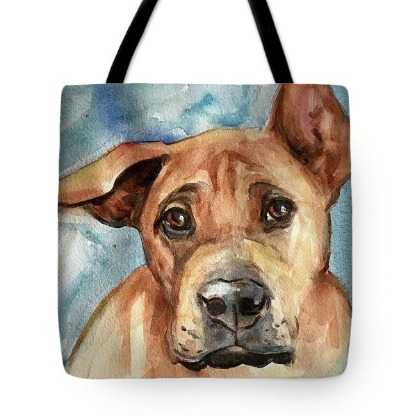 Dog Art Tote Bag