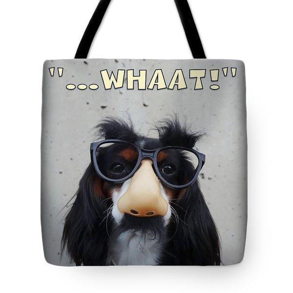 Dog Gone Funny Tote Bag