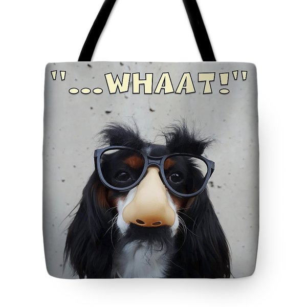 Dog Gone Funny Tote Bag