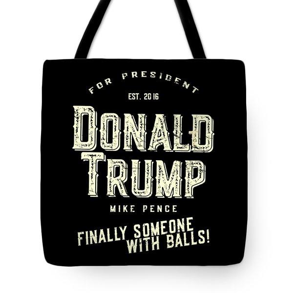 Donald Trump Mike Pence 2016 Vintage Tote Bag
