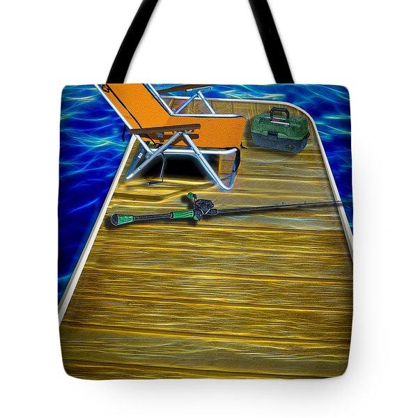 Done Fishing Tote Bag