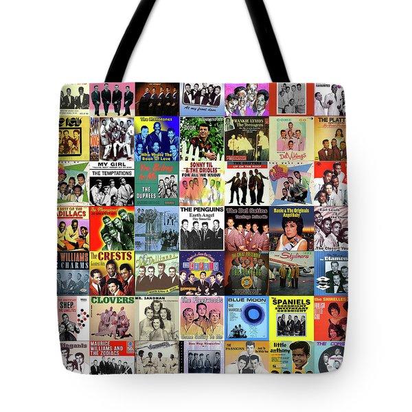 Doo Wop Singers Tote Bag