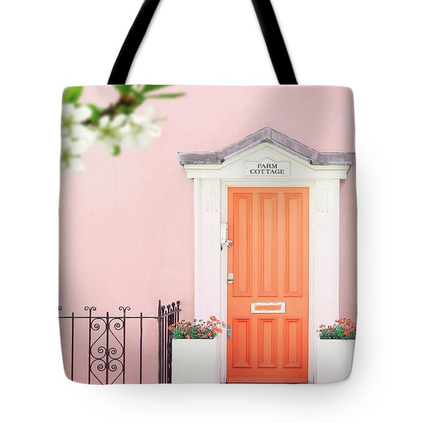 Door To Pastel Heaven Tote Bag