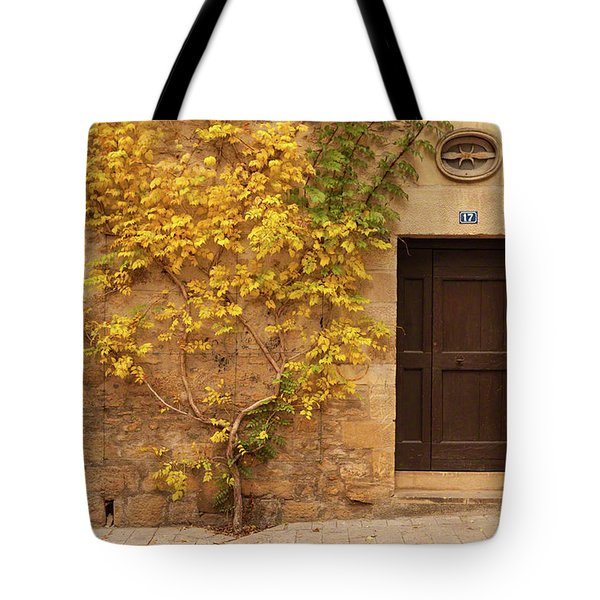 Doorway, Sarlat, France Tote Bag
