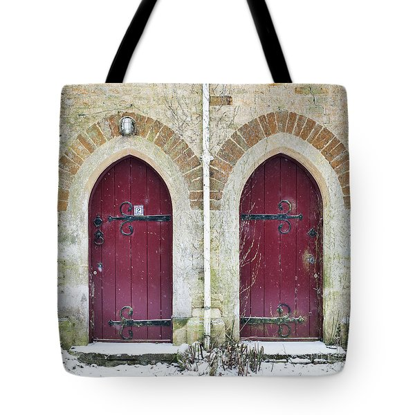 Tote Bag featuring the photograph Double Doors by Tim Gainey