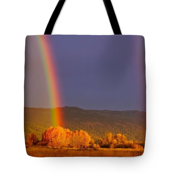 Double Gold Tote Bag