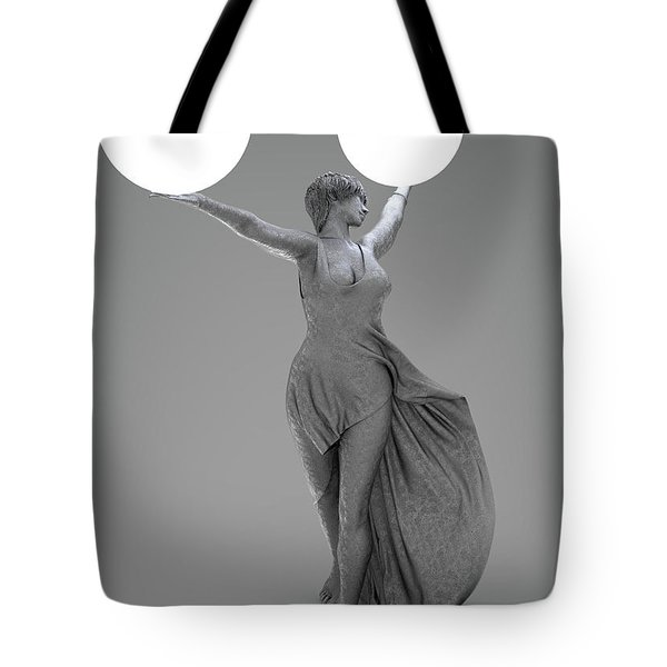 Double Lamp Tote Bag
