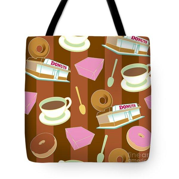 Doughnut_wallpaper_f2 Tote Bag
