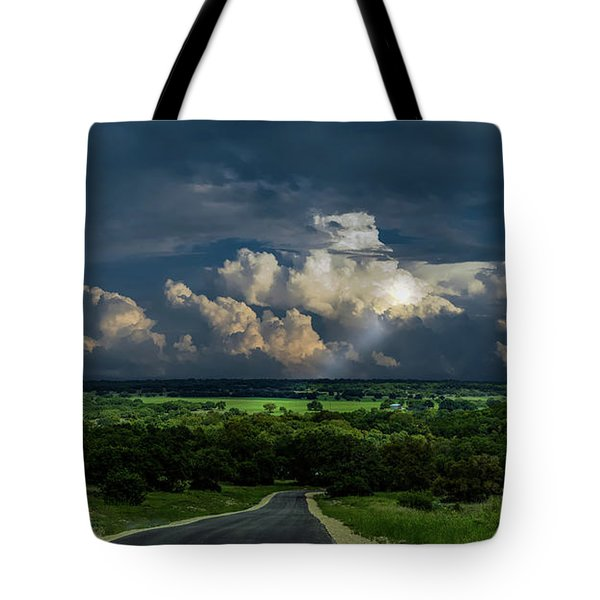 Down Hill From Here Tote Bag