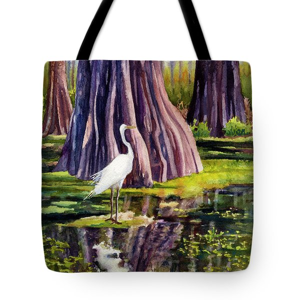 Down In The Swamplands Tote Bag