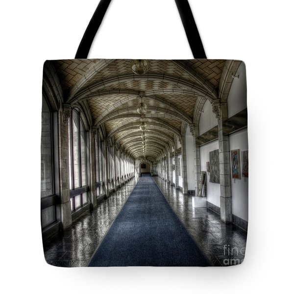 Down The Hall Tote Bag