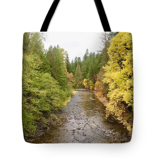Down The Molalla Tote Bag