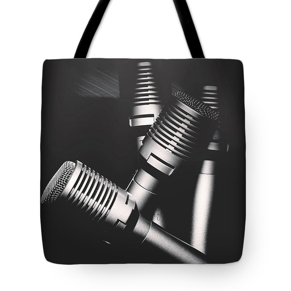 Downtown And Dimly Lit  Tote Bag