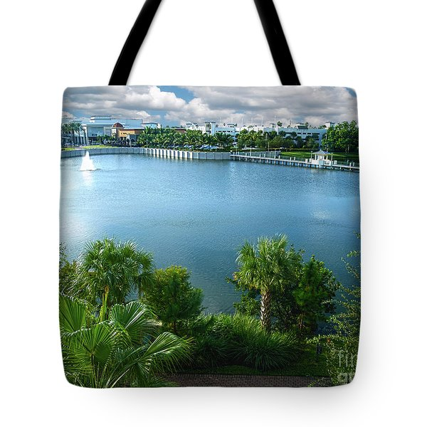Downtown At The Gardens Mall Palm Beach Florida C2 Tote Bag