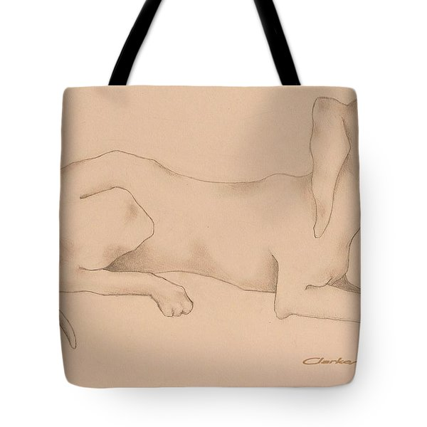 Doxies, Bad To The Bone Tote Bag