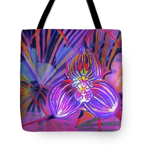 Draculas Orchid Tote Bag