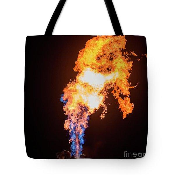 Dragon Breath Tote Bag