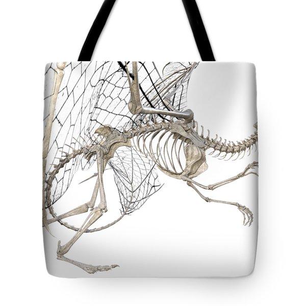 Dragon Skeleton  Tote Bag