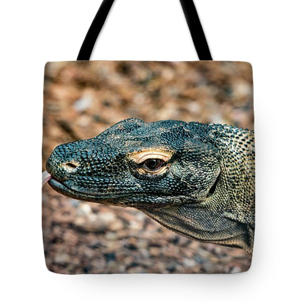 Dragon With No Fire Tote Bag