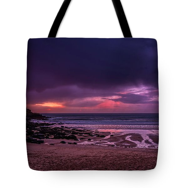 Dramatic Sky At Porthmeor Tote Bag