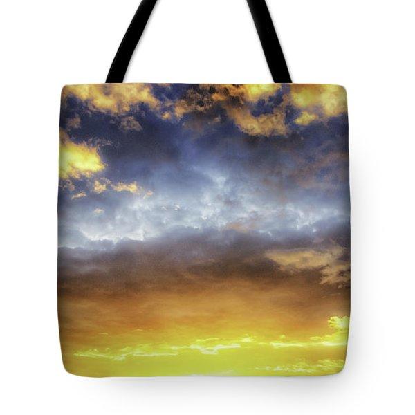 Dramatic Sun Tote Bag