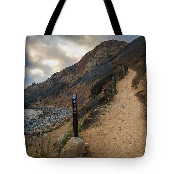 Tote Bag featuring the photograph Dramatic Tovemore Trail by Andy Konieczny