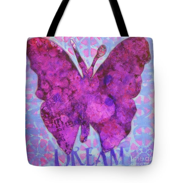 Dream Butterfly Tote Bag