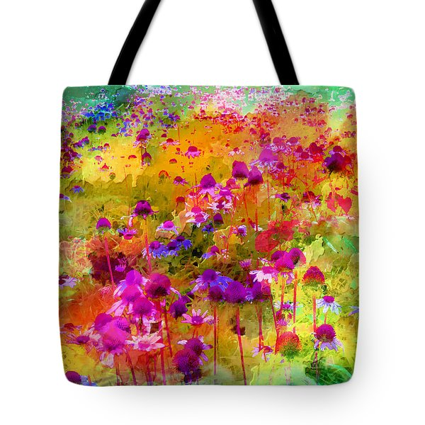 Dream Of Flowers Tote Bag