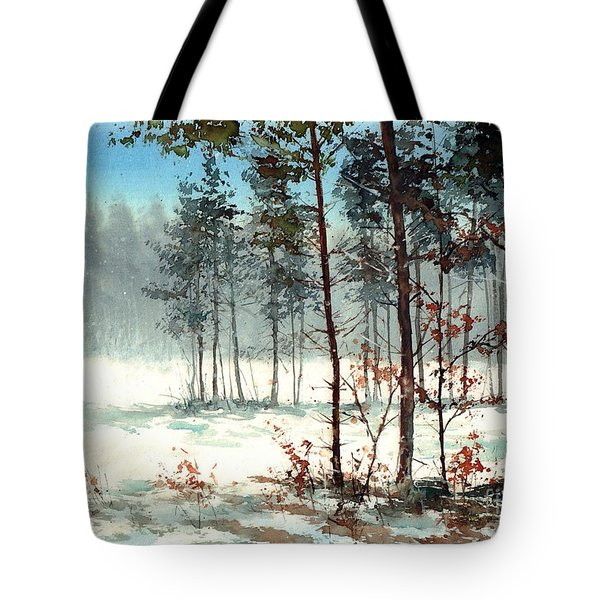 Dreaming Forest Tote Bag