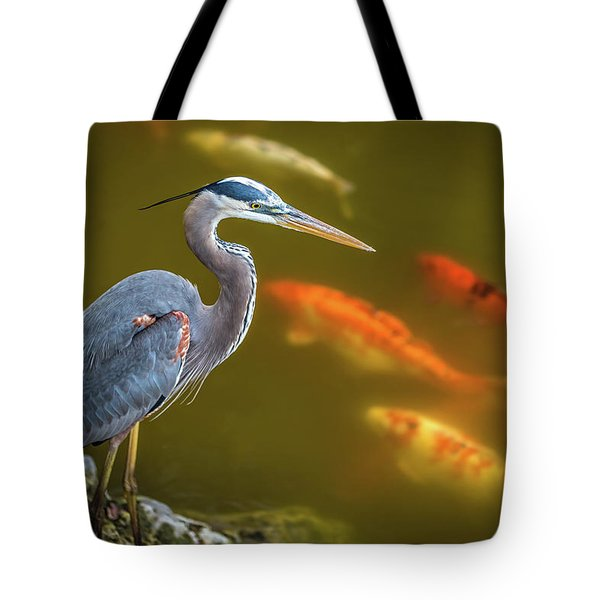 Tote Bag featuring the photograph Dreaming Tricolor Heron by Francisco Gomez