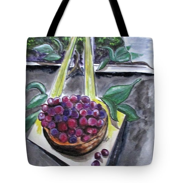 Dreams Of Grapes Tote Bag