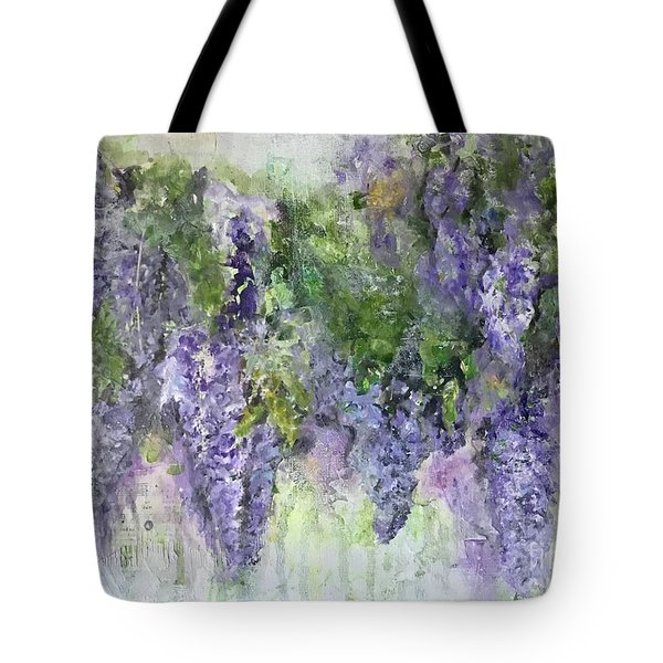 Dreams Of Wisteria Tote Bag