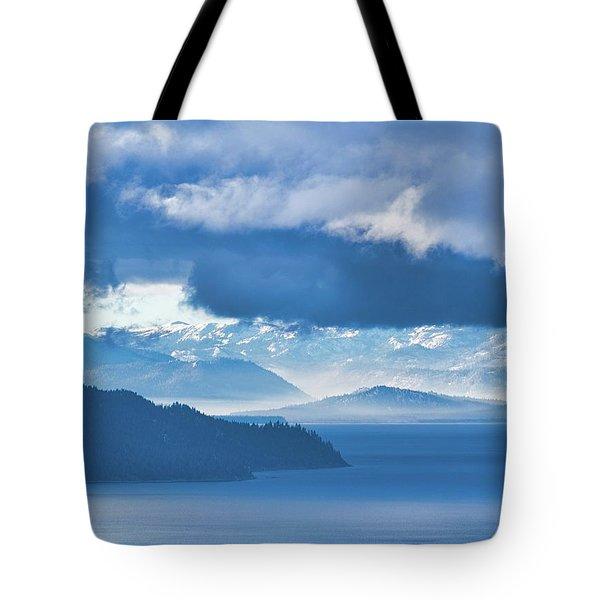 Dreamy Kind Of Blue Tote Bag