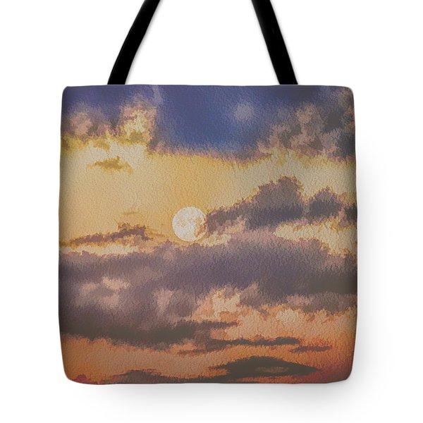 Dreamy Moon Tote Bag