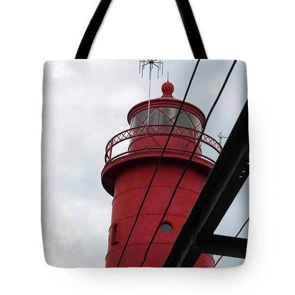 Dressed In Red Tote Bag