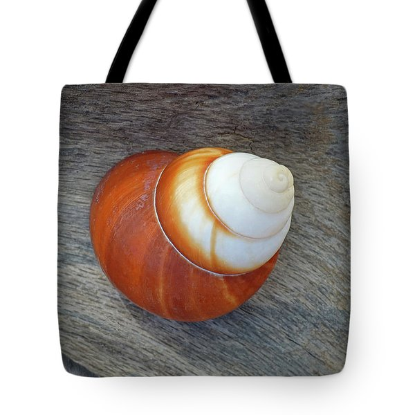 Driftwood And Periwinkle Tote Bag