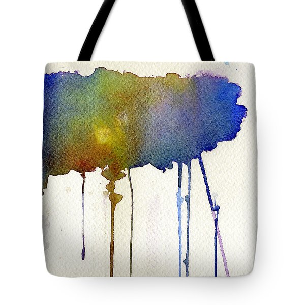 Tote Bag featuring the painting Dripping Universe by Bee-Bee Deigner