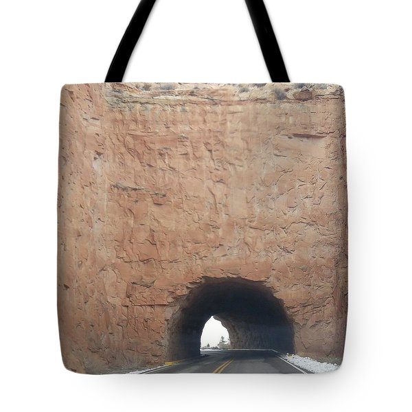 Drive Thru Rock Tote Bag