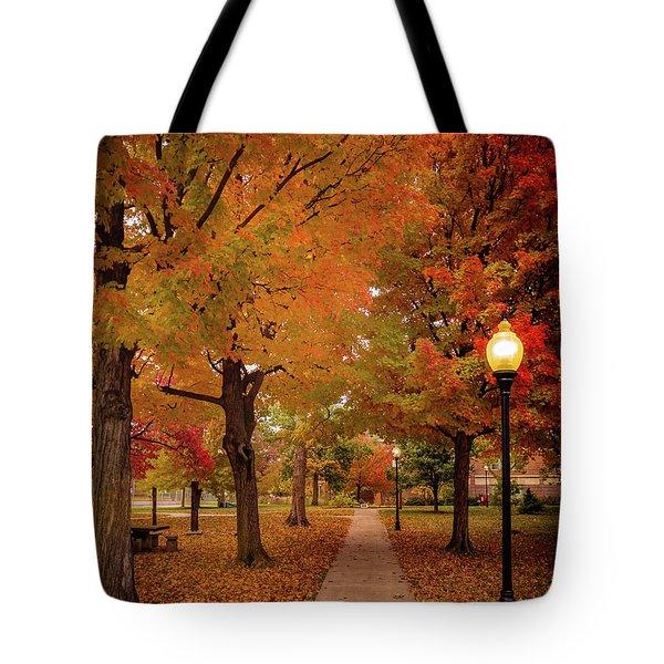 Drury Autumn Tote Bag