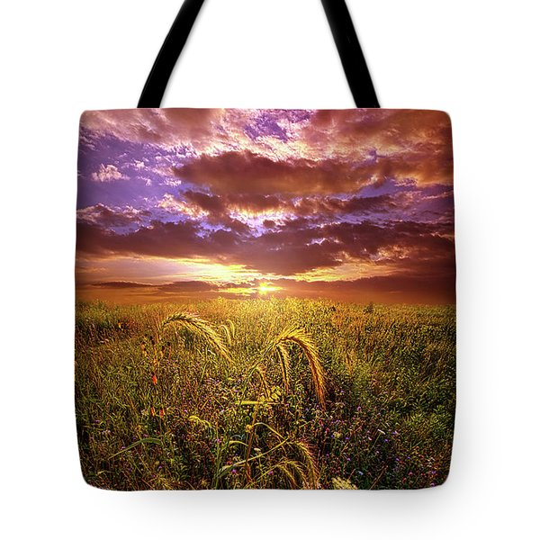 Tote Bag featuring the photograph Drwing Near by Phil Koch