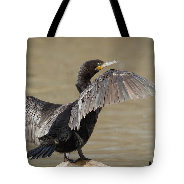Drying Off Tote Bag