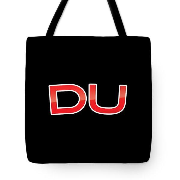 Du Tote Bag