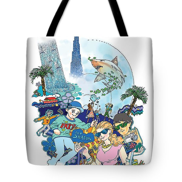 Dubai Mall  Tote Bag