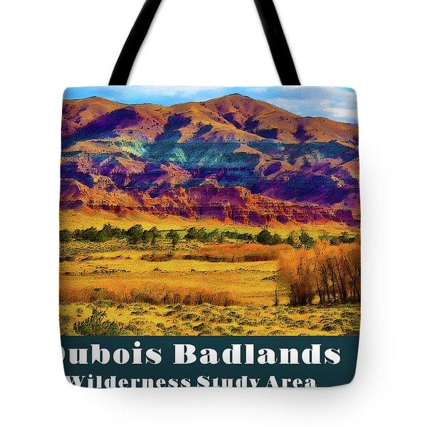 Dubois Badlands Tote Bag